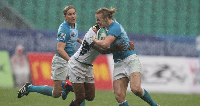 England take on the USA in Guangzhou (pic: IRB)