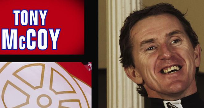 Tony McCoy: had no option but to pick the Romford Pele!