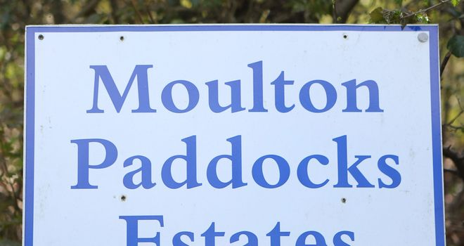 Testing has begun at Moulton Paddocks Estate