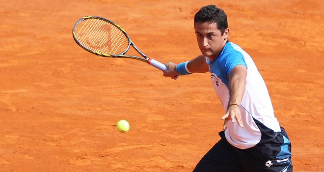 Nicolas Almagro: Knocked out defending champion Juan Monaco
