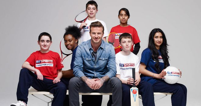 David Beckham OBE joined Sky as an ambassador in April of this year