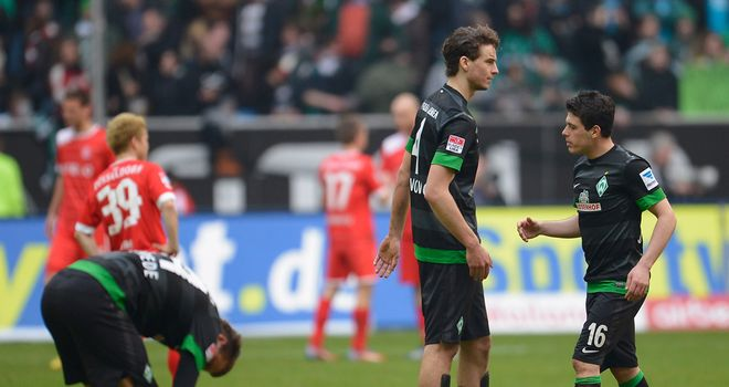 Werder battled back to claim a share of the points