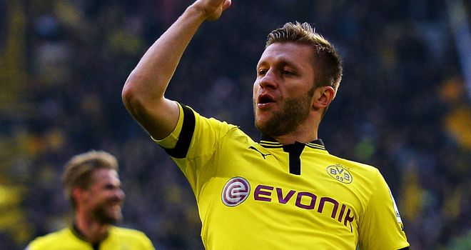 Jakub Blaszczykowski converted the winner for Dortmund