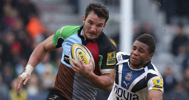 George Lowe: Over 100 appearances already for Quins