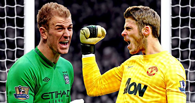 Joe Hart And David De Gea Is This The Real Power Shift In Manchester