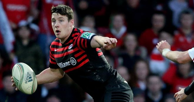 Joel Tomkins: Missed England's tour of Argentina with an ankle injury