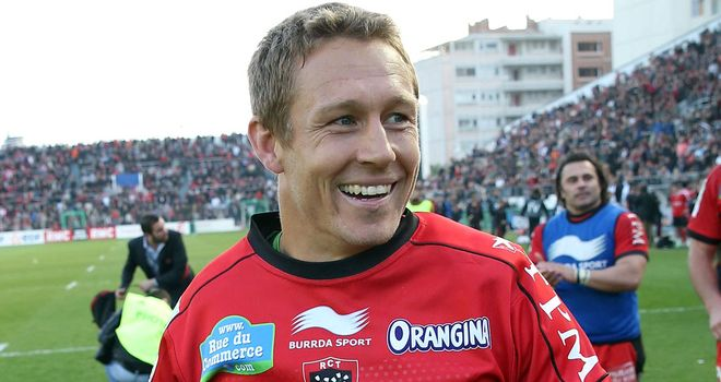 Jonny Wilkinson: Key man for Toulon, says David Strettle