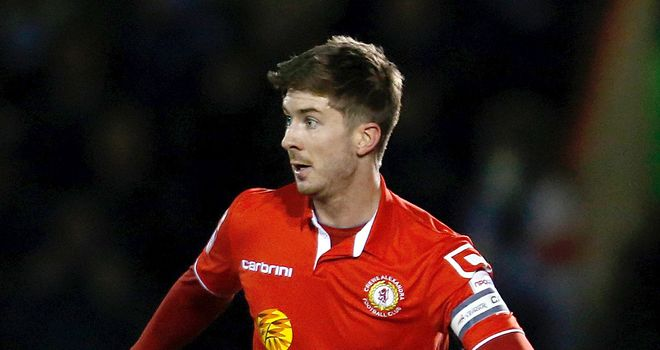 Luke Murphy: A miss for the Railwaymen