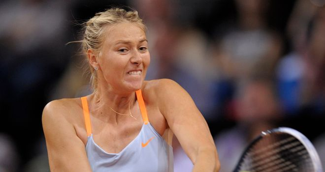 Maria Sharapova: Taken the distance for the second time in as many days