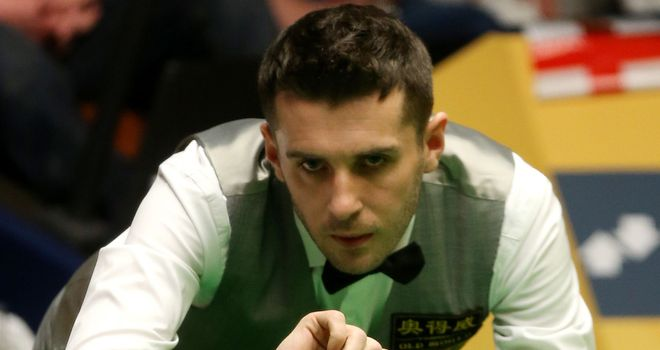 Mark Selby: taken all the way by Ian Burns at Australian Open