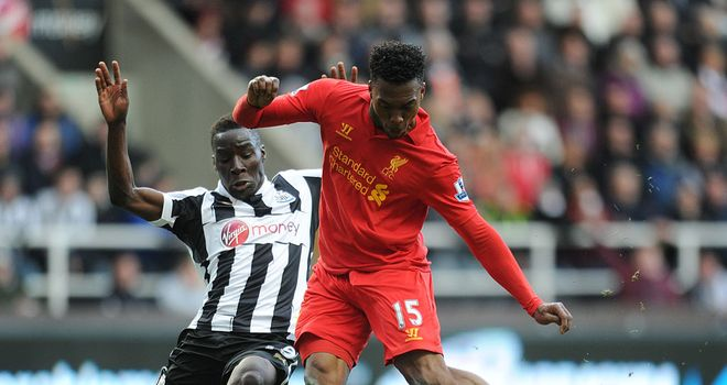 Daniel Sturridge in action against Newcastle last season