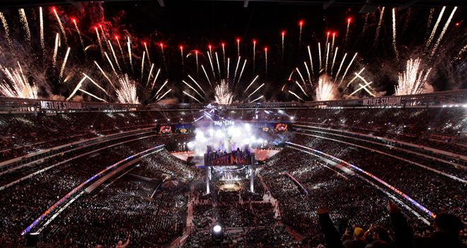 Over 80,000 fans packed into MetLife Stadium for WrestleMania 29