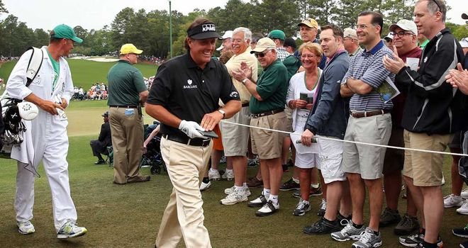Phil Mickelson: Failed to break 70 for only the fifth time at Augusta