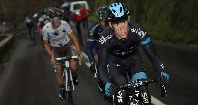 Richie Porte: Won stage as Team Sky weathered the storm