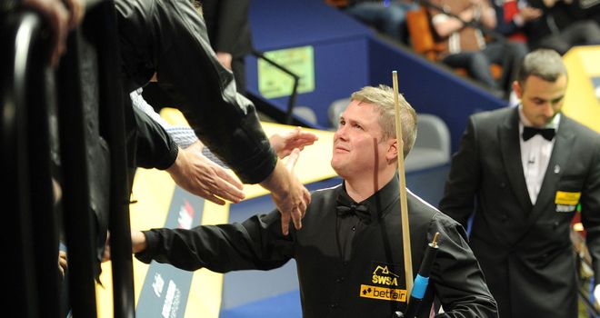 Robert Milkins: Sealed a 10-8 victory over Neil Robertson