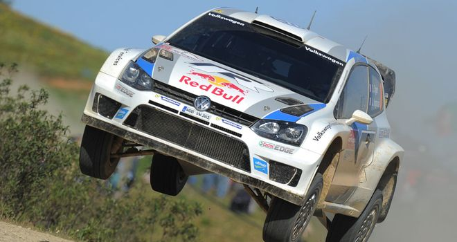 Sebastien Ogier: Leads by 20 seconds in Australia with 12 stages remaining