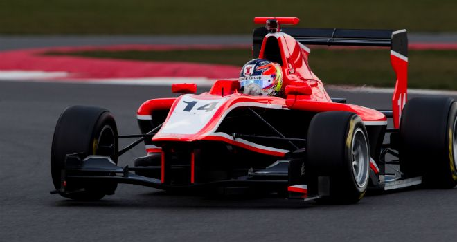 Tio Ellinas: Will start from pole in Barcelona (Image: GP3 Series Media)