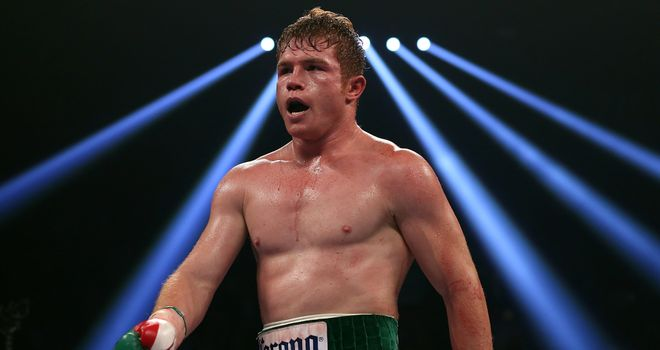 Canelo Alvarez: unified the titles with a unanimous decision over American Austin Trout over 12 rounds
