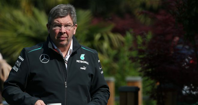 Ross Brawn: Managing the situation