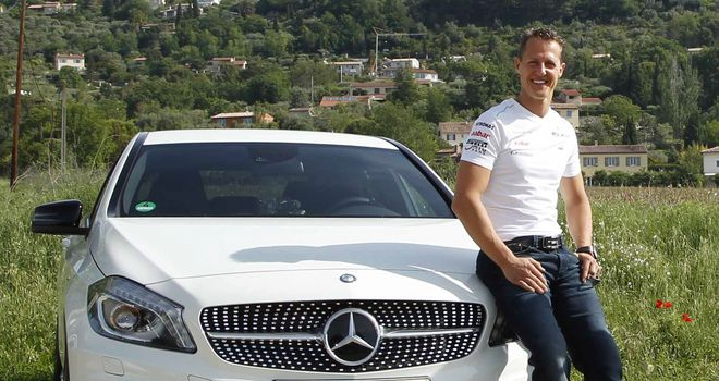 Michael Schumacher: Has become a brand ambassador at Mercedes-Benz