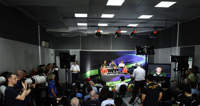You can see both press conference on Sky Sports F1