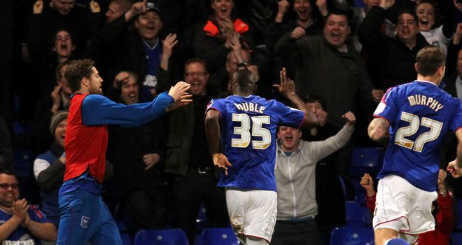 Frank Nouble: At the double for struggling Ipswich to sink Palace