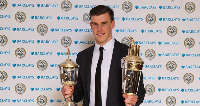 Gareth Bale: Collected both of the PFA's top awards
