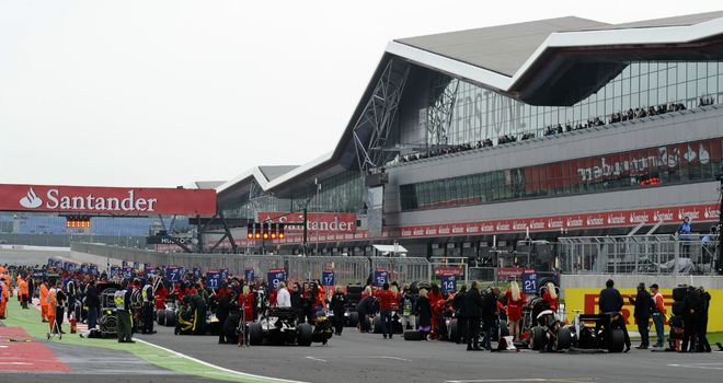 Silverstone: Hoping to boost year-round visitor numbers