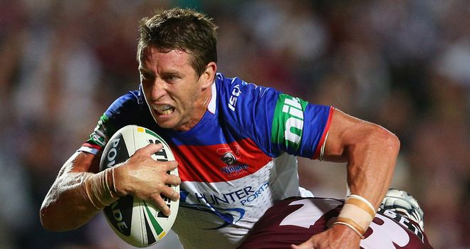 Kurt Gidley: Will return to the Australia set-up after a long absence.