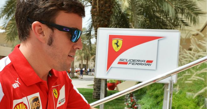 Fernando Alonso: Feeling optimistic over Ferrari's chances