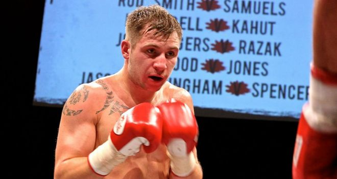 Maxi Hughes: Looking to halt the winning sequence of Scott Cardle on Saturday