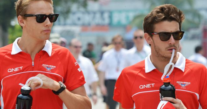 Chilton and Bianchi: Marussia want both to stay for 2014