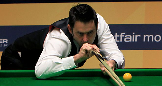 Ronnie O'Sullivan:Cruised into second round of World Championship with 10-4 win
