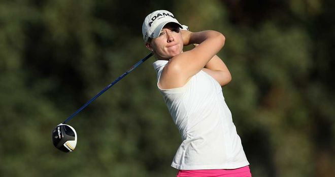 Jodi Ewart Shadoff: Share of lead at Mission Hills for Englishwoman