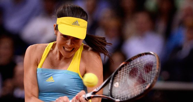 Ana Ivanovic: made light work of Andrea Petkovic in the WTA Stuttgart in Germany