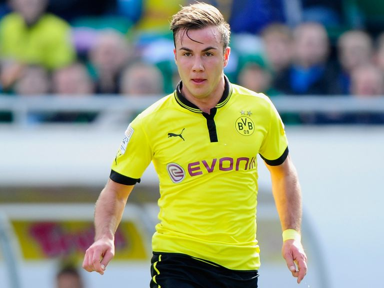 Mario Gotze: Will join Bayern Munich in the summer