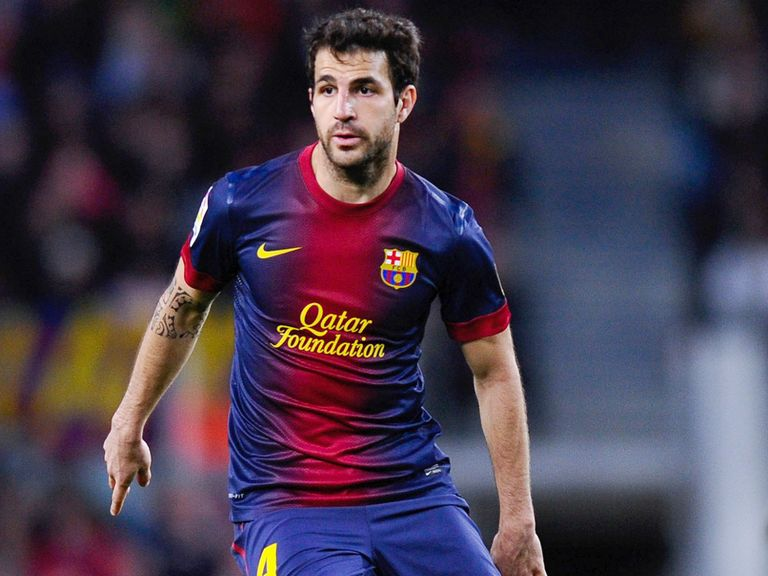 Cesc Fabregas: Not thinking about leaving Barcelona