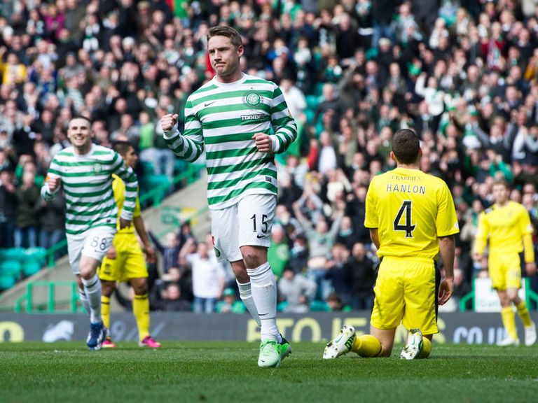 Kris Commons: Scored twice against Hibs on Saturday