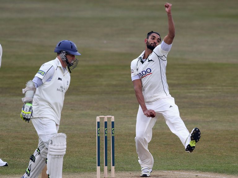 Ajmal Shahzad: Among the wickets for Nottinghamshire