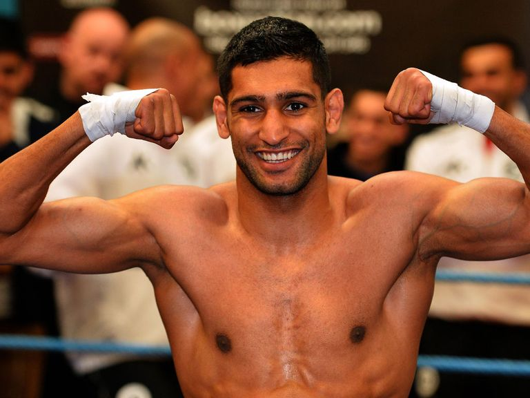 Amir Khan: Close to sealing a fight with Floyd Mayweather