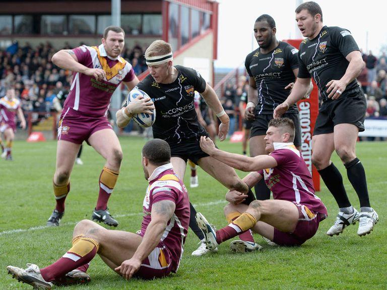 Batley beat Hunslet