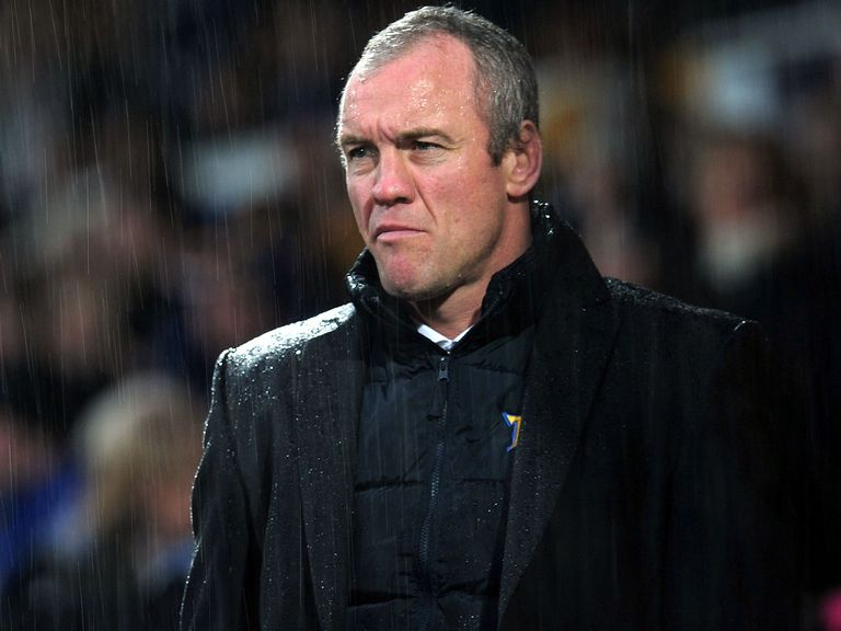 Brian McDermott: Believes Giants are favourites for cup tie