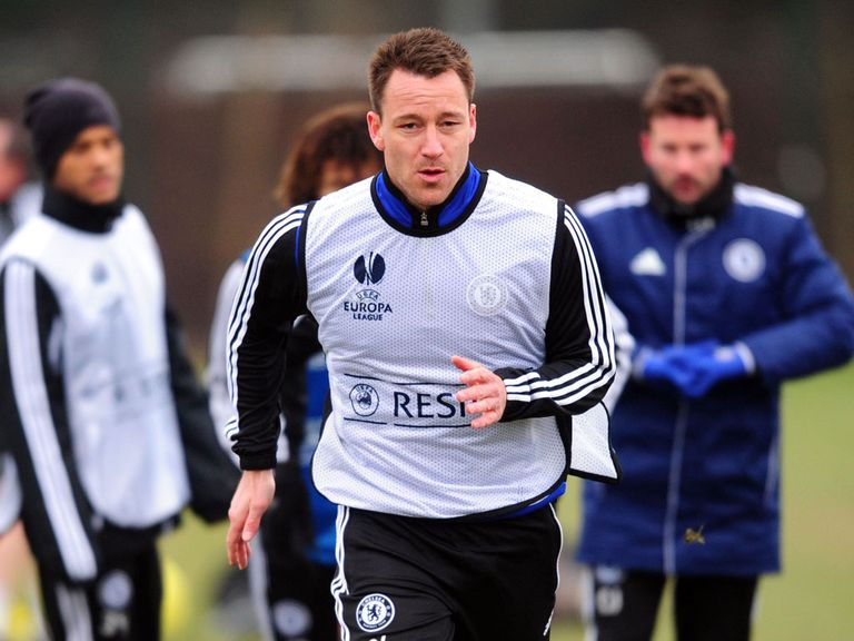 John Terry: Sweating on fitness scan on injured ankle