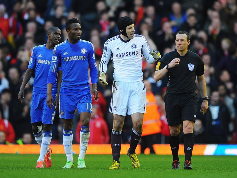 Cech: Leads Chelsea protests on Sunday