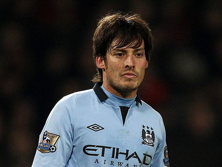 David Silva: Had to be withdrawn at Old Trafford