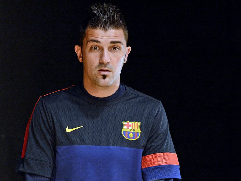David Villa: Looks set for Atletico Madrid move