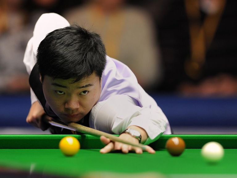 Ding Junhui: Knocked out