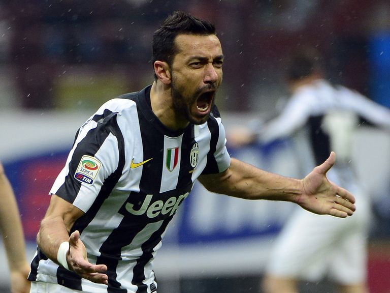 Fabio Quagliarella: Left off Juve's Europa League list