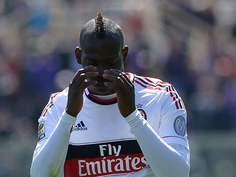 Mario Balotelli: Was not playing due to suspension