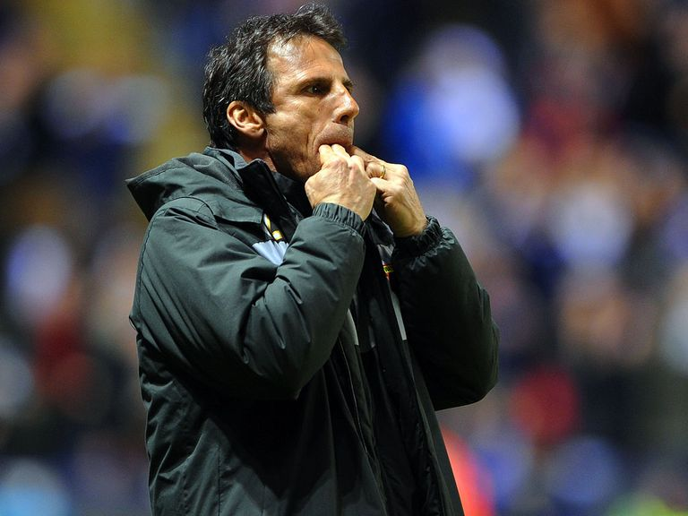 Gianfranco Zola: Watford boss sought the advice of Pep Guardiola